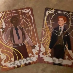 FairyLoot Wheel of Fortune and The Fool Tarot Card